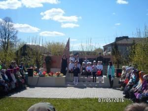 9 мая весь наш народ отмечает великий праздник – День Победы.