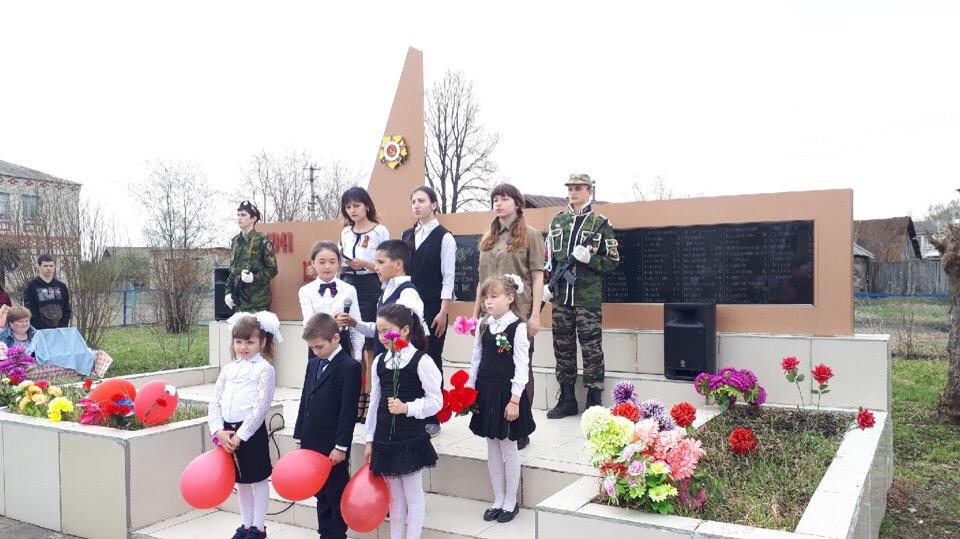 8 мая в с.Рахмангуово прошел традиционный митинг у обелиска участникам Великой Отечественной войны.