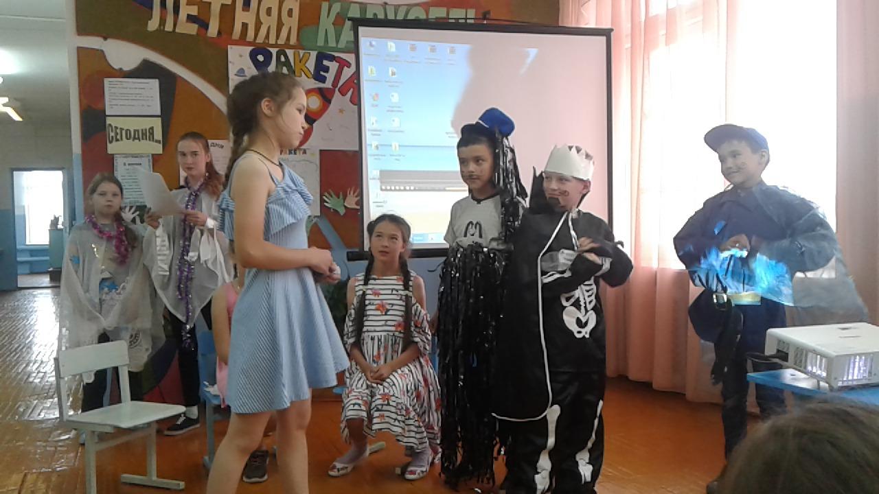 Пушкинский день в пришкольном лагере
